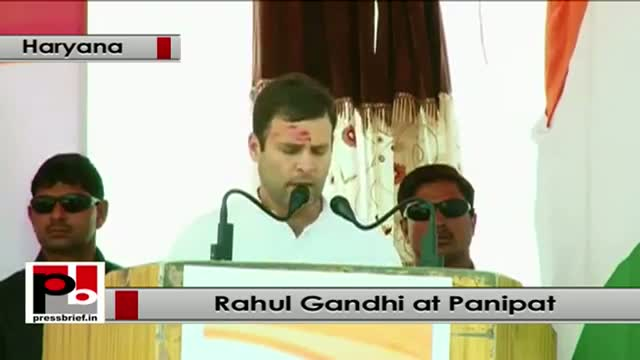 Rahul Gandhi : We have pulled out 15 crore people out of poverty