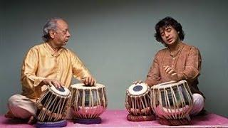 Ustad Alla Rakha and Ustad Zakir Hussain Jugalbandi - VIDEO