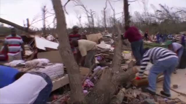 Cleanup After Deadly Arkansas Tornado
