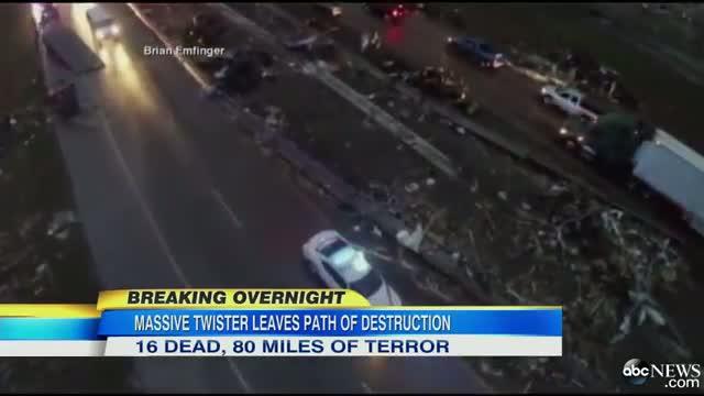 Arkansas Tornado: Town of Vilonia Hit Hard
