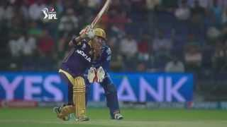 KKR vs RR - Match 19 - Very important 45 from Gautam Gambhir - PEPSI IPL 2014 (29 April 2014)