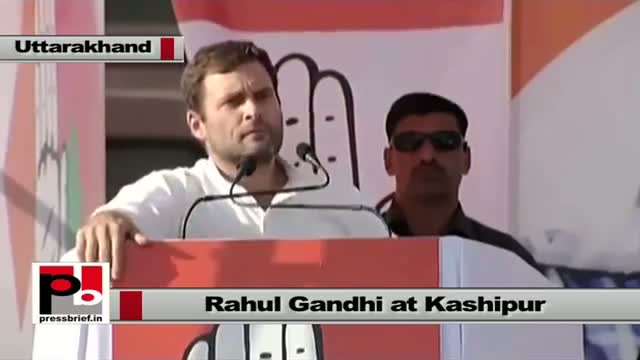 Rahul Gandhi at Kashipur, Uttarakhand: BJP indulges in politics of anger and hatred