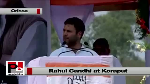 Rahul Gandhi : Congress has pulled out 15 crore people out of poverty in last 10 years