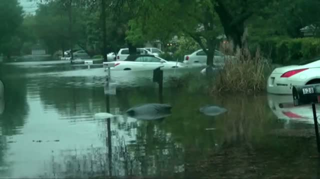 Flood Waters Strand Thousands in Florida