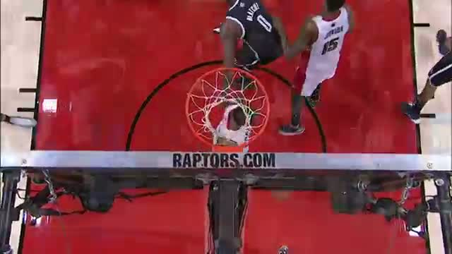 NBA: Kyle Lowry Crosses Over Deron Williams for the Clutch Bucket (Basketball Video)