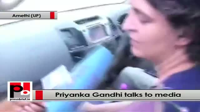 Priyanka Gandhi to media: Rajiv Gandhi gave his life for the country and I am Rajiv's ji daughter