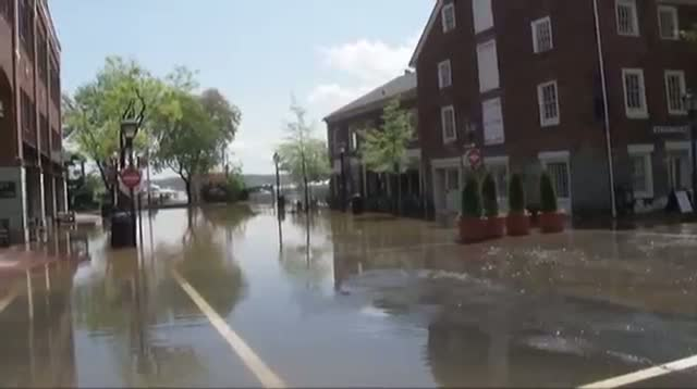 Heavy Rains Bring Flooding to DC Area