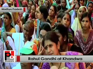 Rahul Gandhi : We enacted food security law so that every poor is guaranteed with food