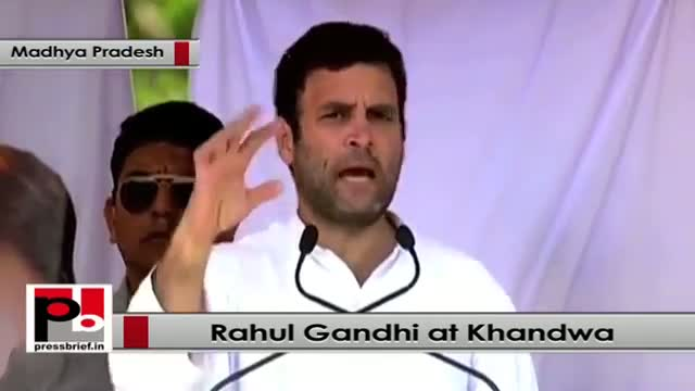 Rahul Gandhi : We will give Right to health for every poor