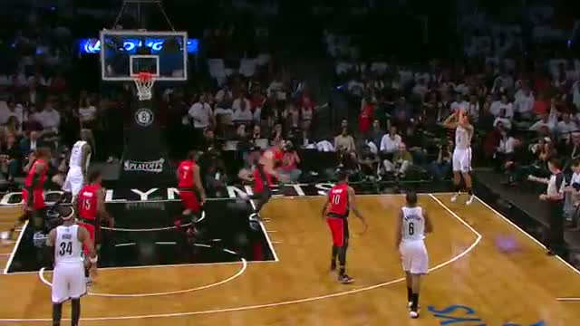 NBA: Deron Williams Takes the Nets to Toronto for Game 7 (Basketball Video)