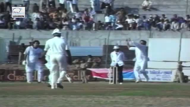 Bollywood stars playing cricket - Rare and old video (1980s)