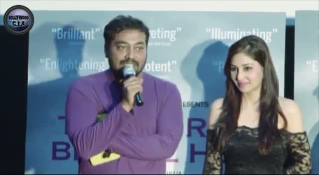 Anurag Kashyap SHOUTS at a journalist!