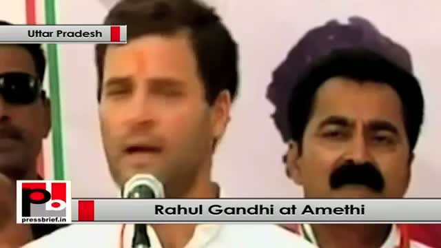 Rahul Gandhi at Amethi says other parties do not even pay a second visit