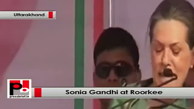 Sonia Gandhi at Roorkee : Narendra Modi is suffering from 'power fever', forgets about you