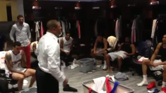 NBA: Doc Rivers Celebrates an Emotional Series-Clinching Victory (Basketball Video)