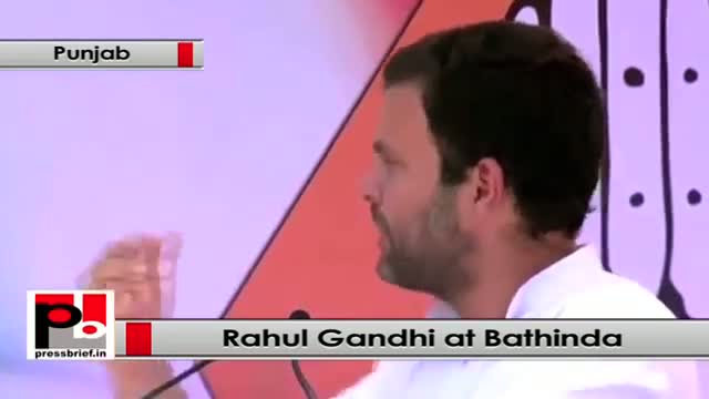 Rahul Gandhi: BJP divides people in terms of religion