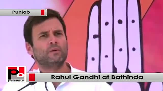 Rahul Gandhi: BJP and Modi want farmers to remain as farmers