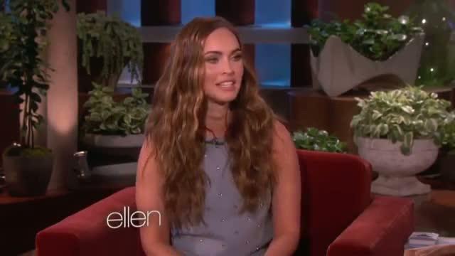 Megan Fox on Her Sons - Ellen Show