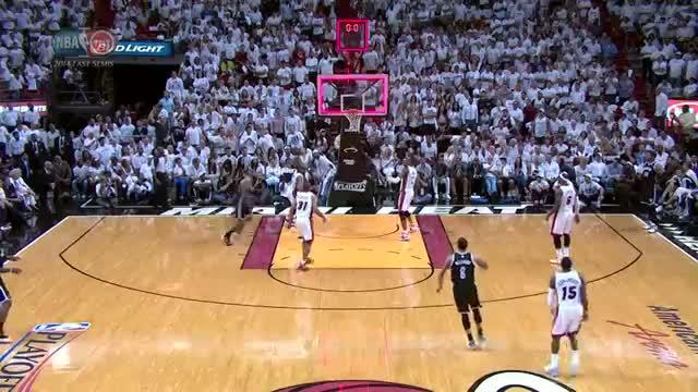 NBA: Deron Williams Drains the Long Buzzer Beater at the Half (Basketball Video)