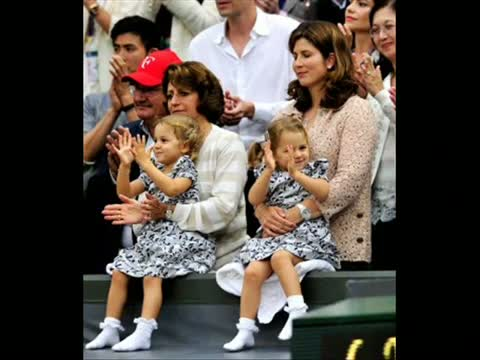 Roger Federer welcomes twins (Exclusive Video) Roger Federer's wife Mirka gives birth to twin