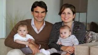 Roger Federer Twin boys 2014 - Roger Federer and wife welcome 'miracle' second set of twins