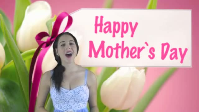 Mother's Day: Happy Mother's Day Song - Because You Loved Me (Video Card)