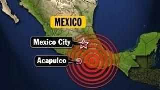 Earthquake : Powerful 6.8 Earthquake strikes near Acapulco Mexico felt 200 miles away (May 08, 2014)