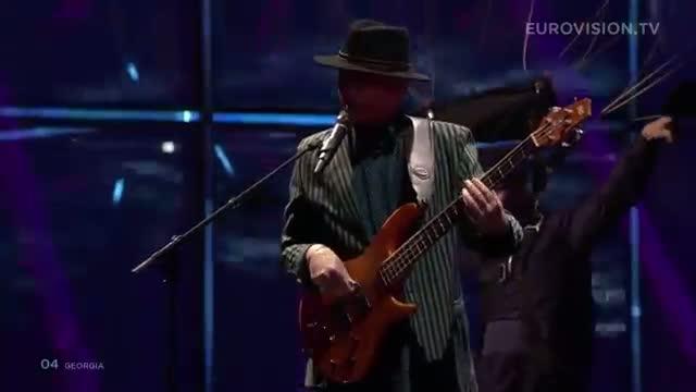 The Shin and Mariko - Three Minutes to Earth (Georgia) 2014 LIVE Eurovision Second Semi-Final