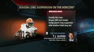 Josh Gordon Facing Season-Long Suspension