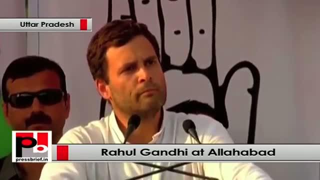 Rahul Gandhi : We built three times more roads than of NDA regime