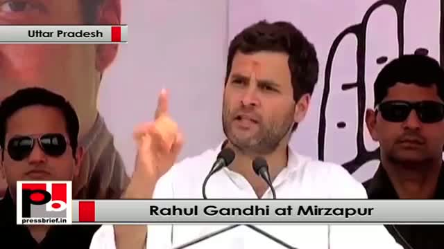 Rahul Gandhi : We respect elders and we value their contributions for country's development