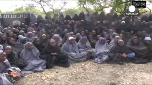 Nigeria abducted girls 'shown' in video released by Boko Haram