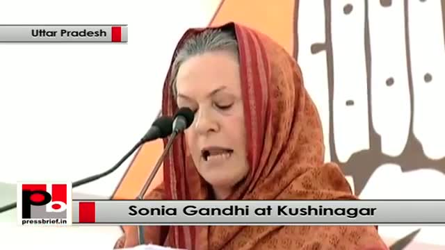 Sonia Gandhi : Gujarat model which Narendra Modi is boasting about is something else
