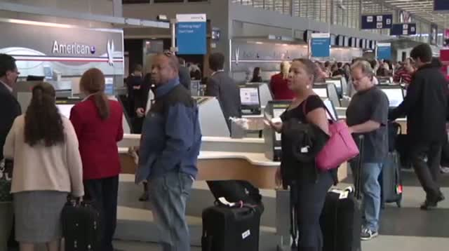 Air Traffic Snarled at Chicago Airports