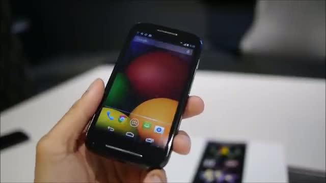 Motorola Moto E hands-on - VIDEO
