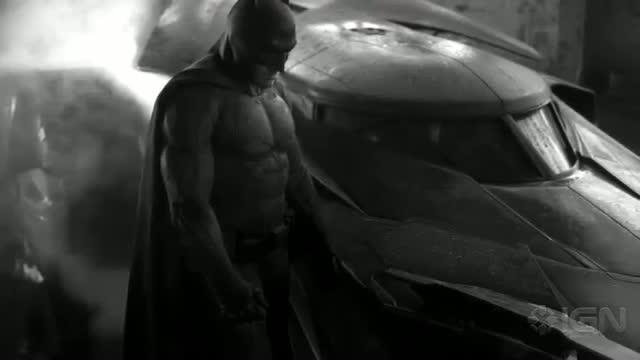 Ben Affleck's Batman Costume Revealed