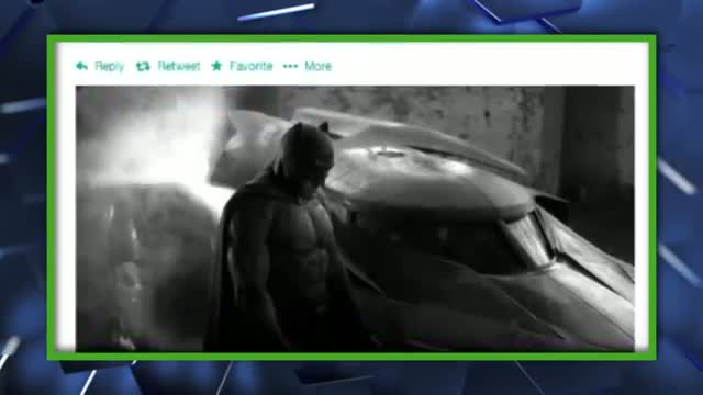 First Look at the New Batmobile and Ben Affleck as Batman