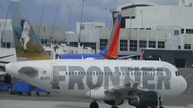Frontier Airlines launches new non stop flights from Dulles‏