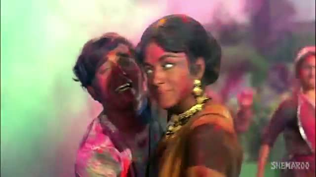 Holi Khele Nandlal (HD) - Mastana Songs - Vinod Khanna - Padmini - Mukesh - Mohd Rafi - Asha Bhosle (Holi Special Song)