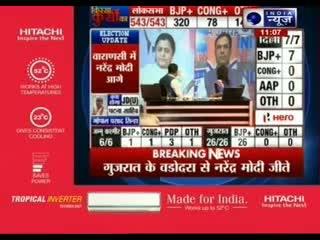 LK Advani wins from Gandhinagar - Election 2014