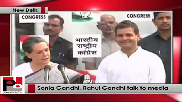 Winning and losing is all a part in a democracy says Sonia Gandhi after the Lok Sabha verdict