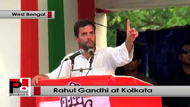 Rahul Gandhi : Mamta ji and Left Front promised you to provide employment but nothing happened