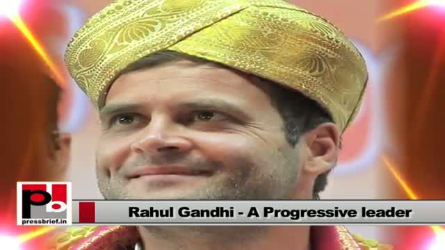 Rahul Gandhi : A ray of hope for poor and down trodden people