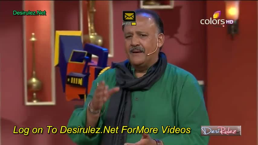 Comedy Nights with Kapil - Alok Nath - 17th May 2014 - Part 3/4