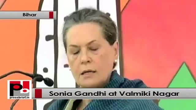 Sonia Gandhi : BJP raises fingers against the integrity and honesty of our leaders