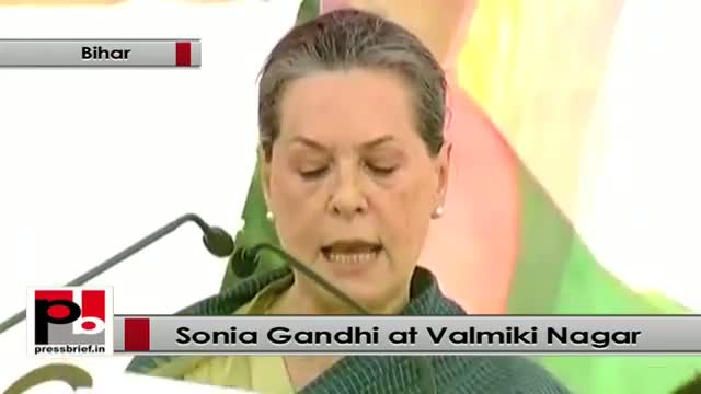 Sonia Gandhi : BJP makes people fight and do not believe in unity and brotherhood