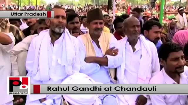 Rahul Gandhi: Congress believes that the benefits of development must reach people