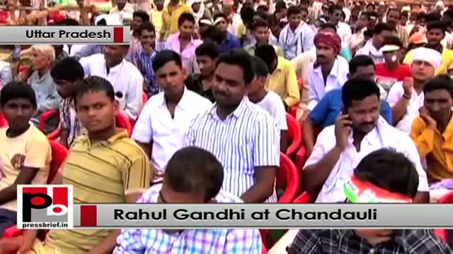 Rahul Gandhi: 45000 acres of land in Gujarat were given to one businessman at Rs. 1 per mtr