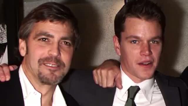 George Clooney Picks Matt Damon as Best Man