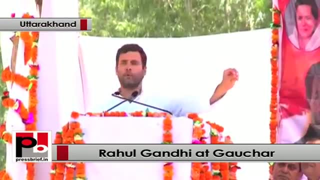 Rahul Gandhi: Opposition wants a govt. of India shinning not poor